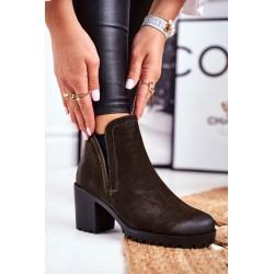 Suknelė Off Baltai žalia
