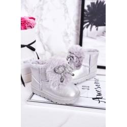 Dress with a neckline for naps graphite