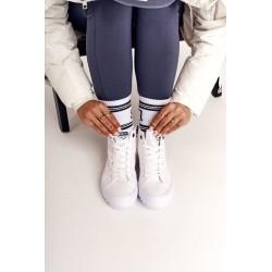 Palaidinė su užsegamais petnešėlėmis oranžinė neoninė