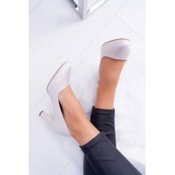 Dress cut under the bust, long sleeve mint