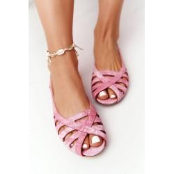 Dress with a hood and pockets fuchsia