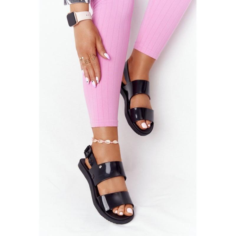 Dress with sequin pocket black