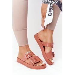 Dress with sequin pocket dark powdered pink