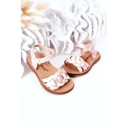 Blouse with decorative buttons mauve-blue